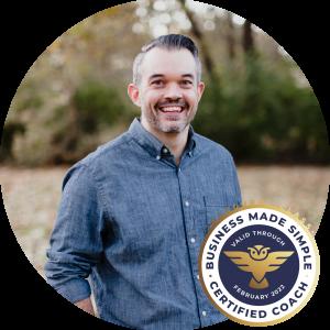 Ben Weaver Headshot & Guide Badge